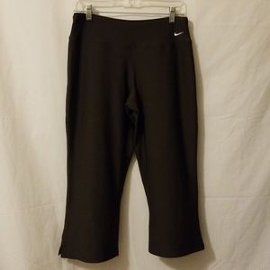 Nike Fit Dry Workout Pant Brown Sz M I 21 W 14 R 9